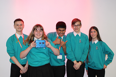 Outreach at MSI Manchester, promoting parallel programming using the Raspberry Pi - the Galileo winners